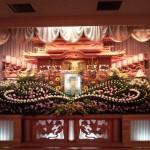 生花祭壇作成事例10