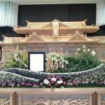 生花祭壇作成事例26