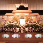 生花祭壇作成事例8