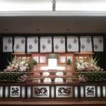 生花祭壇作成事例9