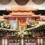 生花祭壇作成事例1