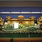 生花祭壇作成事例6
