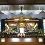 生花祭壇作成事例16
