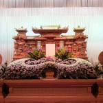 生花祭壇作成事例13