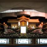 生花祭壇作成事例4