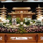 生花祭壇作成事例3