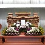 生花祭壇作成事例17