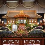 生花祭壇作成事例7
