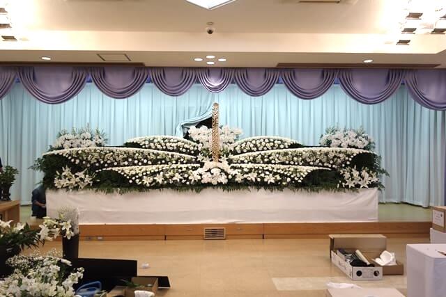 花you様 生花祭壇実例5